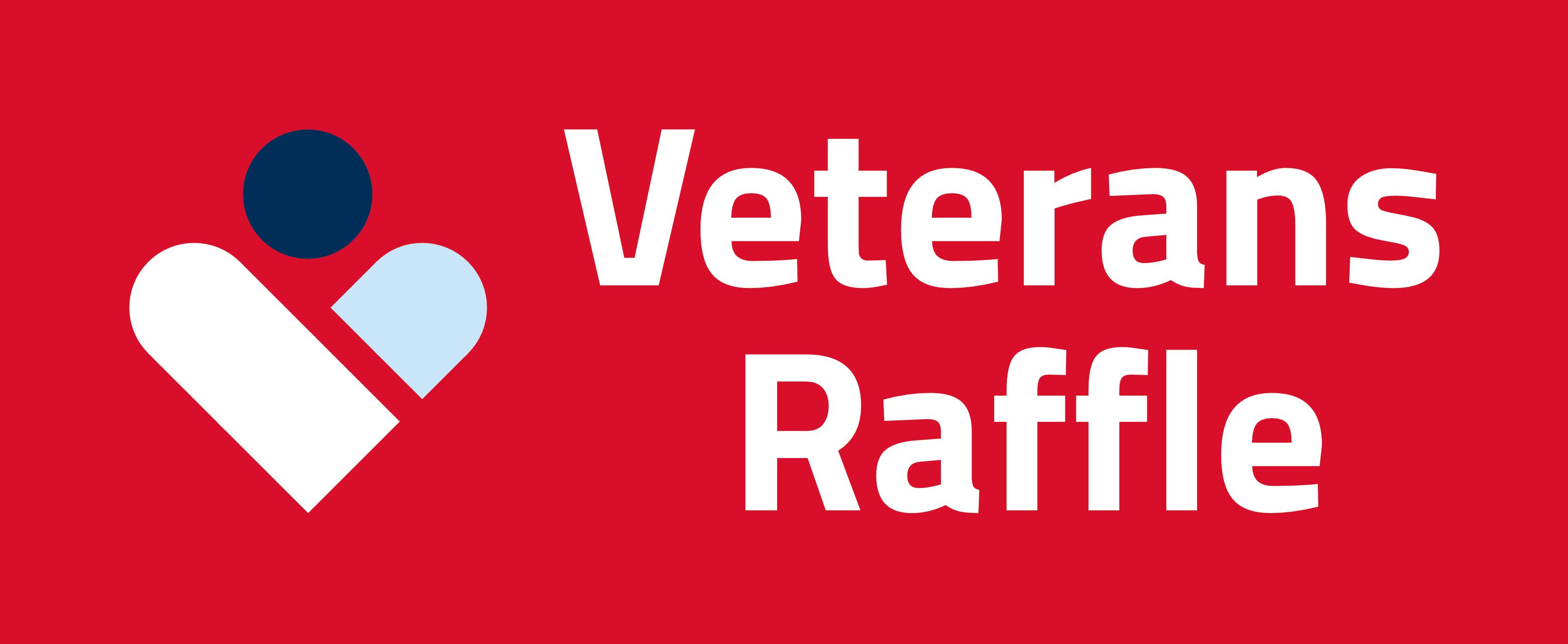 Veterans Raffle logo